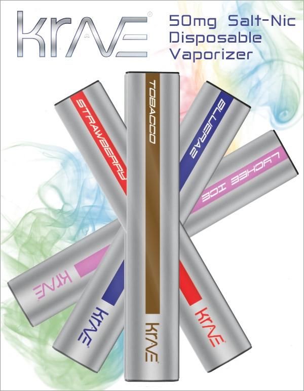 Krave 50mg Salt-Nic Disposable Pen